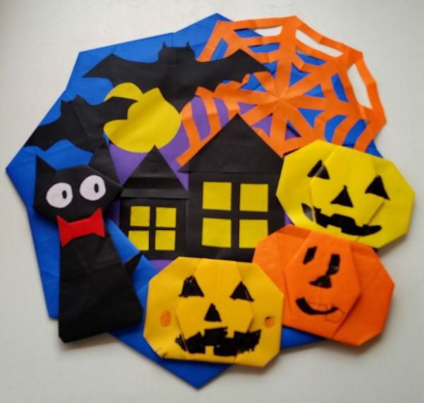 ハロウィン に ぴったり の 折り紙