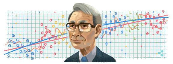 赤池弘次がGoogleロゴに!生誕90周年を迎える赤池弘次はどんな人?