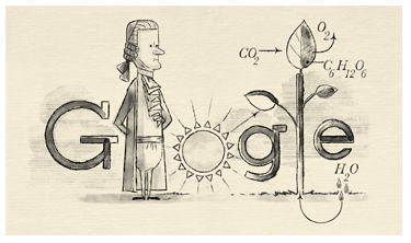 ヤン インゲンホウスとは誰?生誕287周年のインゲンホウスをGoogleロゴが祝う!
