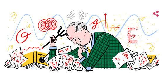 マックス ボルンとは誰?生誕135周年のMax BornをGoogleロゴが祝う!