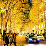 クリスマスイルミネーション大阪梅田でインスタ映えする場所、撮り方