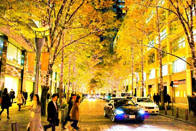 クリスマスイルミネーション大阪梅田でインスタ映えする場所