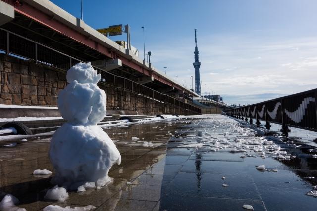 東京が大積雪!電車運行状況と通勤、通学時の転ばない安全な歩き方、方法