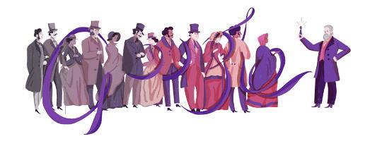 ウィリアム パーキンとは誰?イギリスの化学者をGoogleロゴが祝う