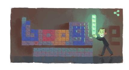 ウィリアム・ラムゼイ卿 Googleのロゴに生誕167周年を記念して変更