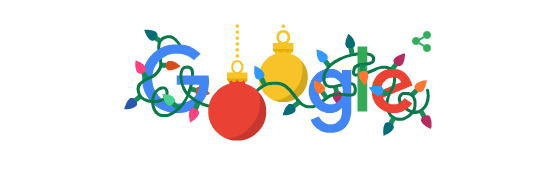ハッピー ホリデーとは?2019年クリスマスにGoogleロゴが変更
